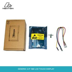 Image 5 - Nextion NX3224T028   2.8 HMI ذكي شاشة تعمل باللمس TFT وحدة LCD 4 أسلاك لوحة مقاوم اللمس لمطور اردوينو