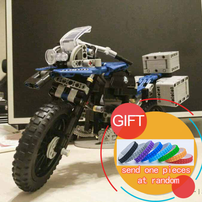 20032 603Pcs Technic Series The car Off-road Motorcycles R1200 GS Building Blocks Educational 42063 Toys lepin lego technic конструктор приключения на bmw r 1200 gs 42063