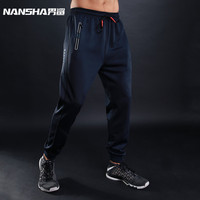 NANSHA Brand Autumn Winter New Gyms Pants Joggers Casual Pants Men Brand Trousers Sporting Professional Bodybuilding