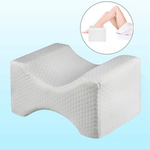 Orthopedic Memory Foam Knee Wedge Pillow for Sleeping Sciatica Back Hip Joint Pain Relief ContourThigh Leg Pad Support Cushion(China)