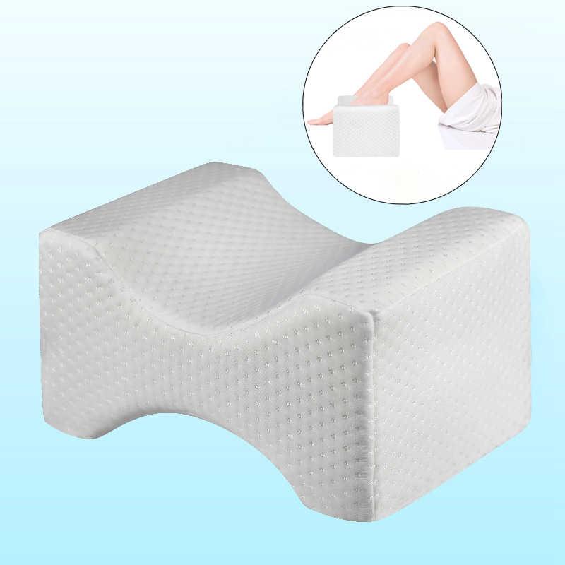 Ortopedi Memori Busa Lutut Wedge Bantal untuk Tidur Linu Panggul Kembali Hip Nyeri Sendi Sisi Tidur Kaki Pad Penopang Bantal