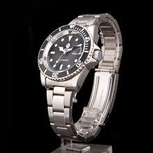 Купить с кэшбэком SEWOR Deluxe version of the classic crystal Automatic Mens quartz watch Valentine Gift