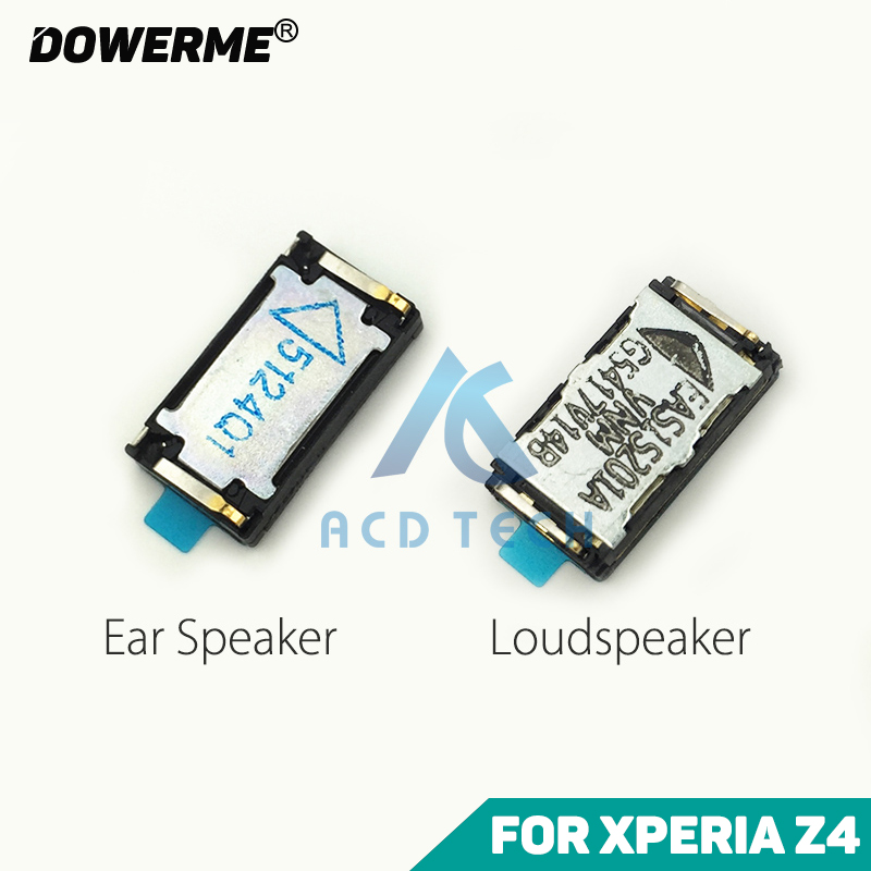 Dower Me Top Ear Speaker Bottom Loudspeaker Receiver With Waterproof Adhesive For SONY Xperia Z4 Z3+ Dual E6553 E6533 SOV31