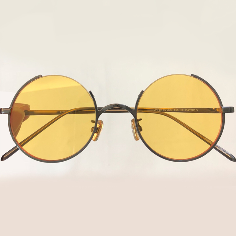 Vintage lunettes de Soleil Rondes pour les Femmes Marque Designer Haute Qualité Oculos De Sol Feminino Rétro Mode Nuances avec Emballage Boîte