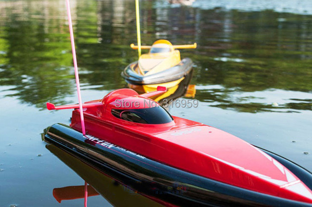 Nuevo Control de Radio del barco Super Speed Boat Dual Motor con agua sistema de circulación rc lancha juguetes electrónicos
