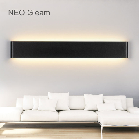 neo brilho moderno led luzes de parede da lampada sala estar quarto luzes de parede