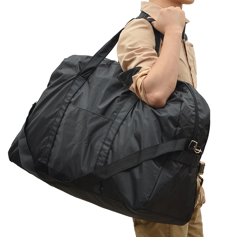 Aliexpress.com : Buy Large capacity Black Nylon waterproof luggage ...