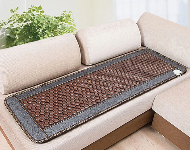 Free Shipping for Natural Jade Thermal Infrared Jade Magnetic Mattress Health Mattress 50cmX150cm For Sale