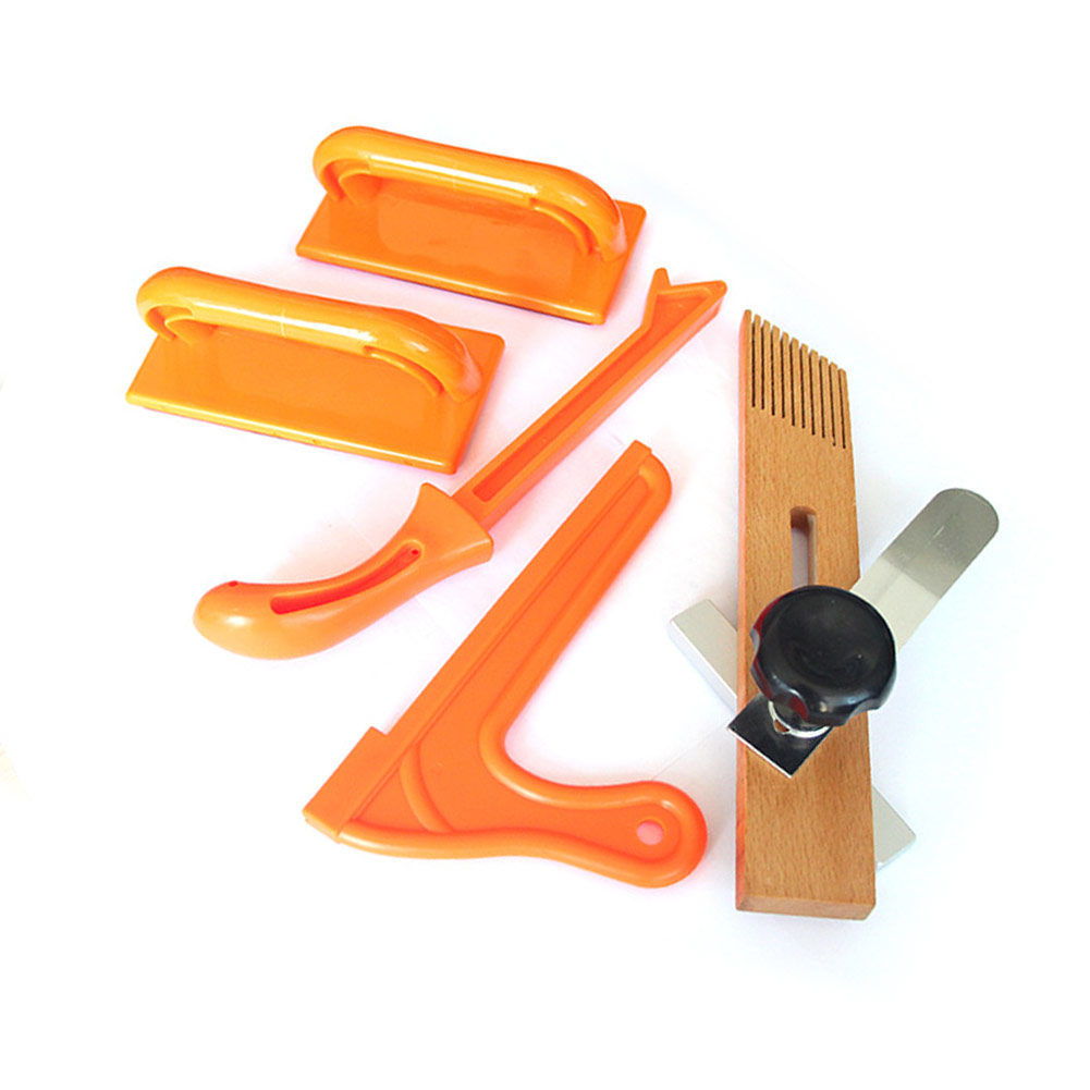 Wood Saw Safety Hand Protection Sawdust Push Stick Set For Carpentry Table Woodworking Set Of Tools
