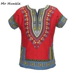 Marca Senhor Hunkle Mens roupas de vestuário Africano Dashiki Vestido Estampado Africano Tradicional Africano MH0048