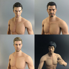 Mnotht Toy Auction Figures 1/6 Male Solider Head Sculpt 12in Figures Head Carvin