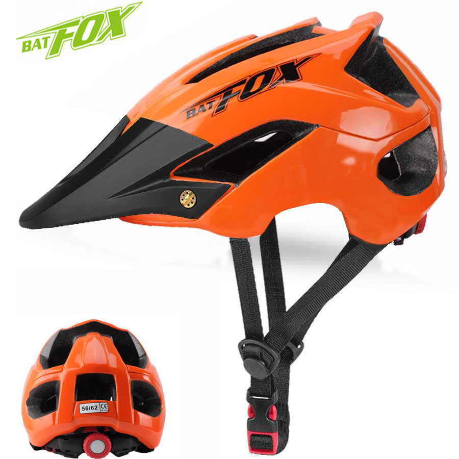 BATFOX Cycling Helmet Road-Bike Ultralight Safety Integrally-Molded MTB Hot-Sale Men