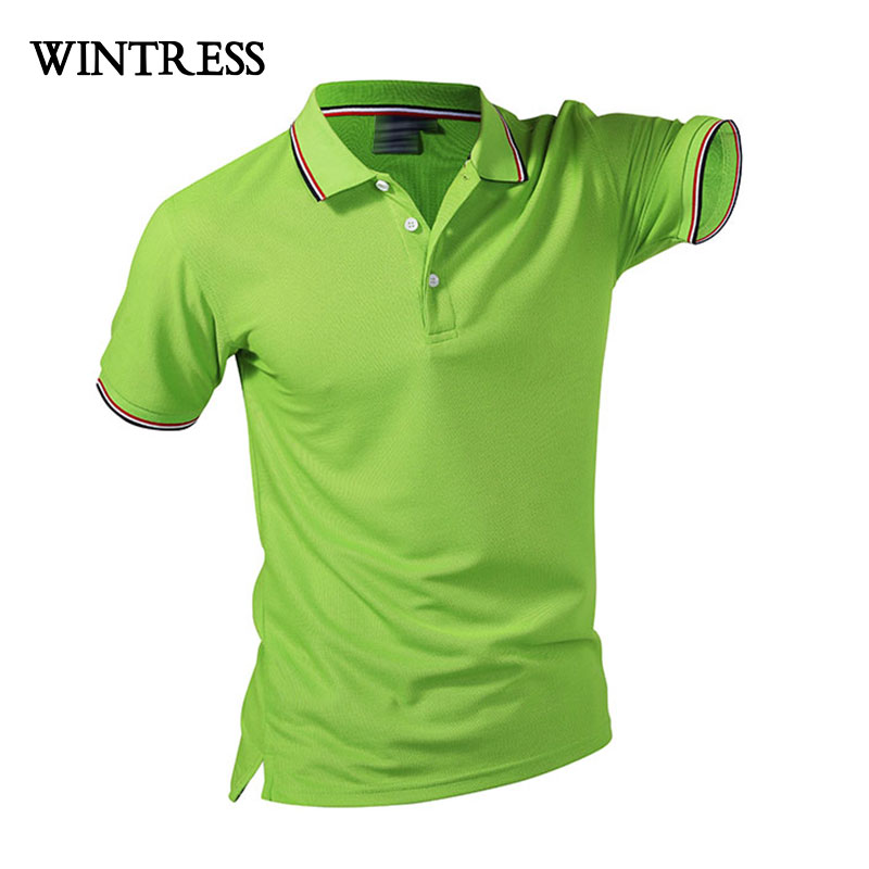 38c2814e6ec Summer Cotton Fitness Men Polo Shirt Short Sleeve Contrast Color Plus Size  Famous Hombre Camisa Polo Sportwear Custom Print Logo