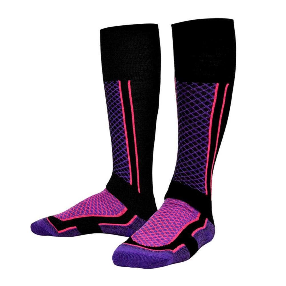 Unisex Warm Wearproof Socks Skiing Thicken Winter Outdoors Long Breathable Sports
