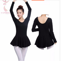 Hot Selling Black Fashion Sexy Dancewear Ballet Leotard Gymnastics Exercise Girl Dance Clothes Ballet Leotard Gym