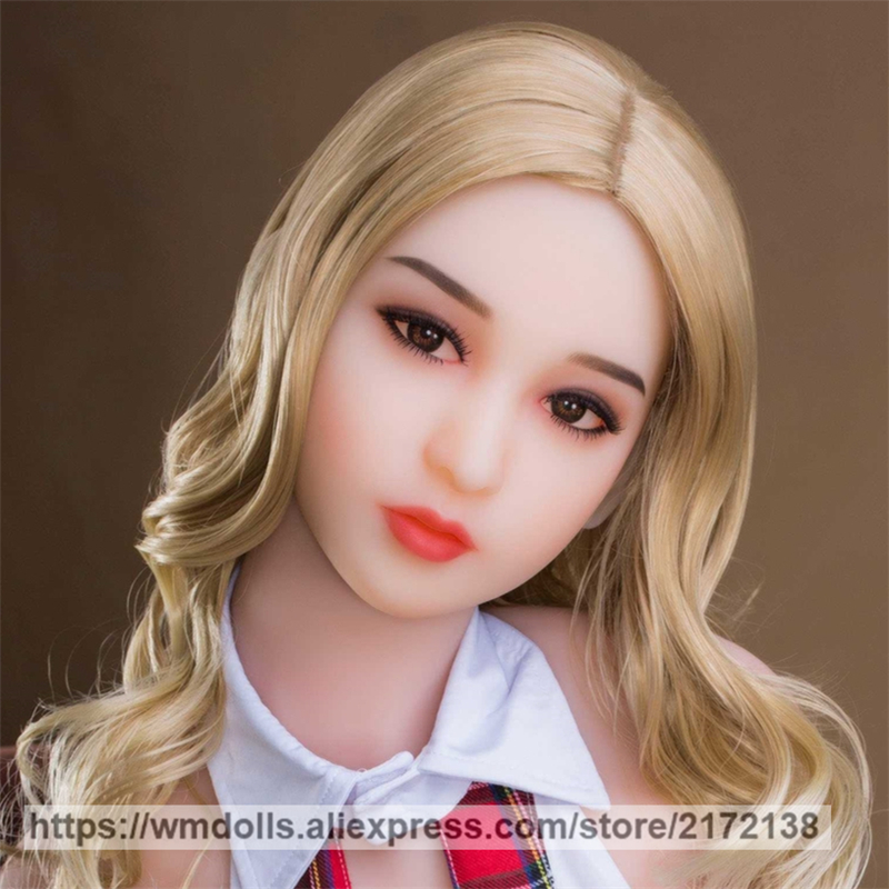 WMDOLL TPE <font><b>Sex</b></font> <font><b>Doll</b></font> Head Real Oral For Men <font><b>Sex</b></font> Toys <font><b>Asian</b></font> Face <font><b>Silicone</b></font> <font><b>Sex</b></font> <font><b>Dolls</b></font> Heads for 135-172cm Love <font><b>Doll</b></font> image