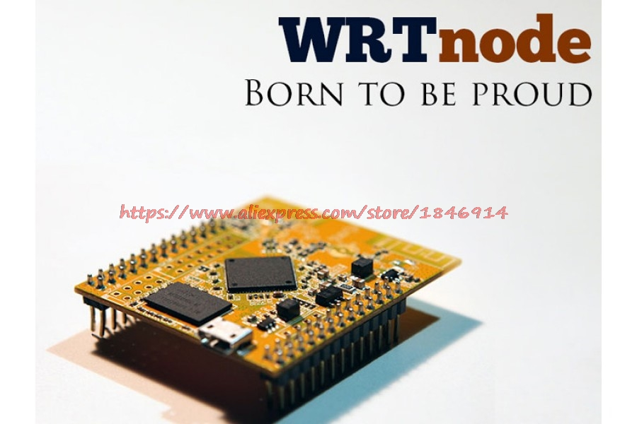WRTnode Mini OpenWrt  Main Control Board   Wi-Fi AP-Soc WRT  Development Board