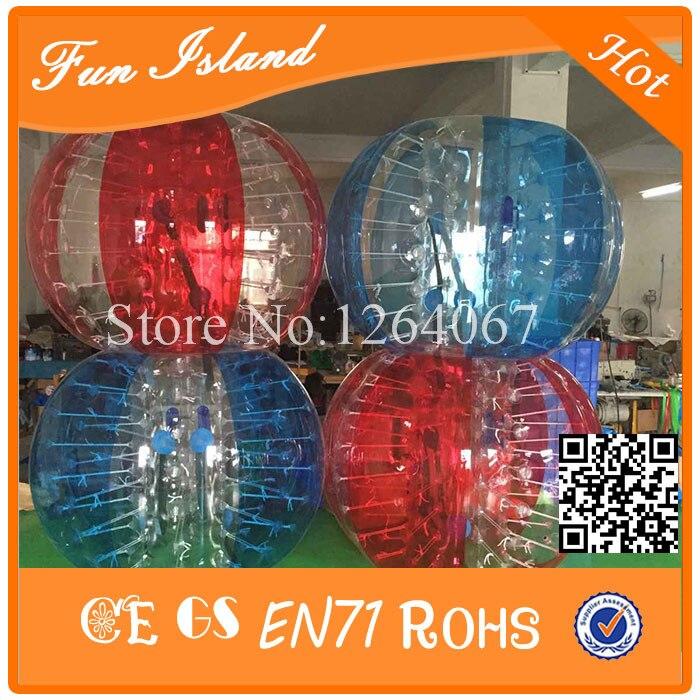 Guter Preis CE TPU Bubble Ball Fußball, Bubble Ball für Fußball, Anzug Stoßball Auf Verkauf