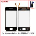 Original Touch Screen For Samsung Galaxy Ace S5830 GT-S5830 digitizer Glass Panel Replacement Black and White+Tools