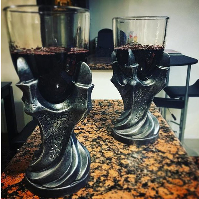 """3D Game of Thrones Mug """"A Song Of Ice And Fire""""  Skull Dragon Claw Cup Dragon Glass Shot Cup Beer Glass Cup 1 pc 1"""