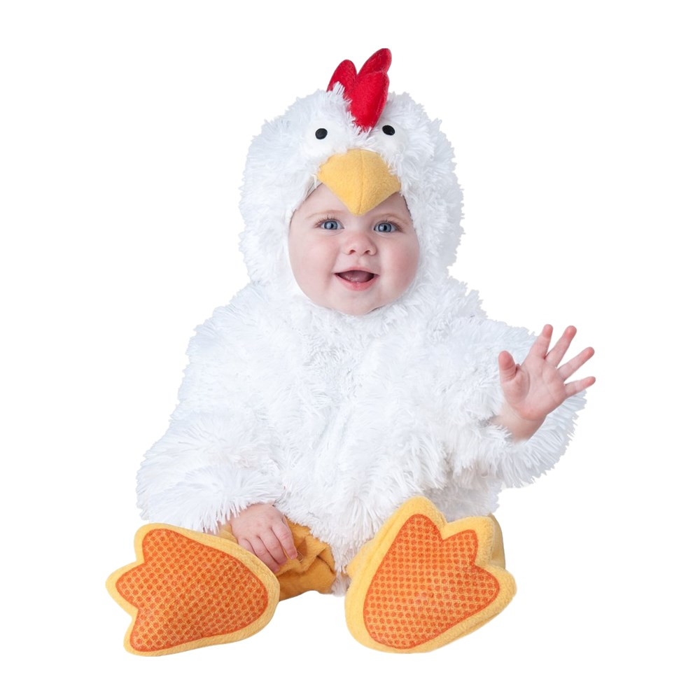 Qualified Boys Girls Christmas Halloween Fluffy Chick Costumes Infant Baby Girls Rompers Jumpsuits Animal Cosplay Toddlers Clothes Pure White And Translucent Home