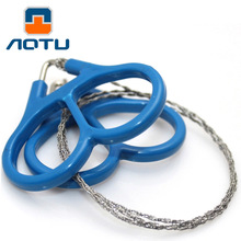 NEW 2019 Outdoor 3piece/lot Camping Saws third generation stainless steel wire saw rope line chain sawing life-saving