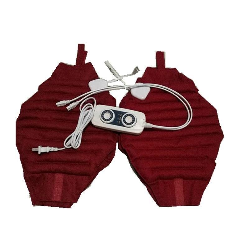 Herramienta eléctrica caliente para el cuidado de la rodilla bolsa de frijol rojo terapia de sudor Paquete de calor codo almohadillas hombro modelos multiusos venta - 2