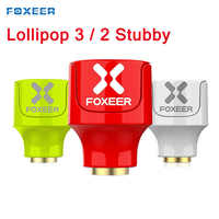 2PCS Foxeer Lollipop 3 / 2 Stubby 5.8GHz 2.5Dbi RHCP/LHCP FPV Antenna SMA 2pcs for FPV RC Drone Model Spare Part DIY Accessories