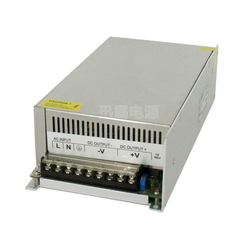 720 w alimentation à découpage voltage0-12V de sortie réglable 60A 15 V 24 V 36 V 48 V 50 V 60 V 72 V 80 V 110 V 130 V AC-DC SMPS 15 V