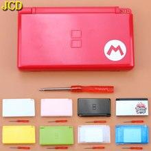 JCD 1 sztuk pełna gra Protect Cases obudowa pokrywa zestaw ze śrubokrętem dla Nintend DS Lite NDSL naprawa obudowa wymienna Case