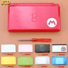 JCD 1PCS เกมเต็มรูปแบบป้องกันกรณีฝาครอบชุดพร้อมไขควงสำหรับ Nintendo DS Lite NDSL เปลี่ยน Shell กรณี