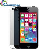 APPLE iPhone 5 сотовый телефон iOS OS Dual core 1 г оперативная память 16 ГБ 32 64 Встроенная 4,0 дюймов 8MP Камера Wi Fi 3g gps