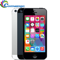 Unlocked APPLE iPhone 5 Cep Telefonu iOS IŞLETIM SISTEMI Çift çekirdekli 1G RAM 16 GB 32 GB 64 GB ROM 4.0 inç 8MP Kamera WIFI 3G GPS
