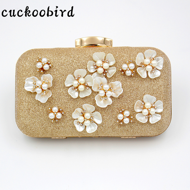 Shoulder Bags Women S Clutch Bag Diamonds Beading Unique Design Messenger Party Female