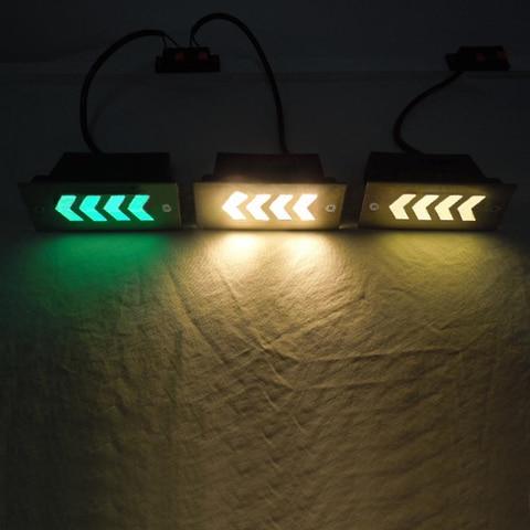 ao ar livre 3 w 5 w lampadas subterraneas led sinal de luz indicacao da