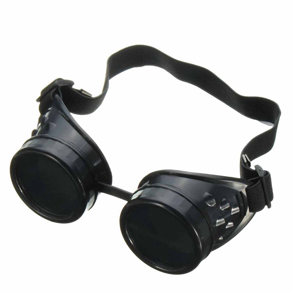 MOOL NEW Welding Cutting Welders Industrial Safety Goggles Steampunk Cup Goggles new welders dual leather welding cutting