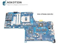 NOKOTION For HP Envy 17 J 17 J01 Laptop Motherboard HM87 DDR3L GT840M 2GB GPU 773370 001 773370 501 Main Board