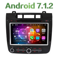 2 ГБ Оперативная память 8 ''Android 7.1.2 4 ядра 3g 4 г МЖК BT Wi Fi аудио мультимедиа dvd плеер автомобиля радио gps стерео для VW Touareg 2010 2014