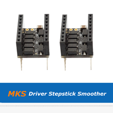 цена на 5pcs/lot 3D Printer Accessories MKS Stepstick Plug-type Smoother, Vibration Filter Protector Module For Stepper Motor Driver