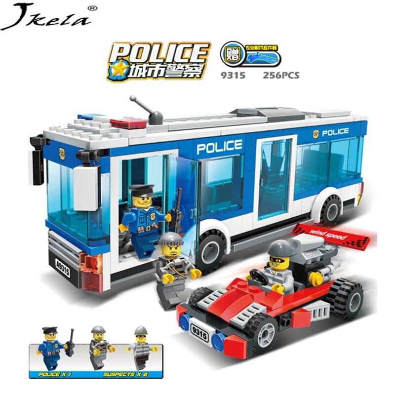 Police Station Model Building Blocks City series DIY Block Bricks Educational Toys Compatibility With My Style police скуби ду лего
