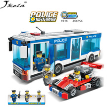 Police Station Model Building Blocks City series DIY Block Bricks Educational Toys Compatibility With My Style police