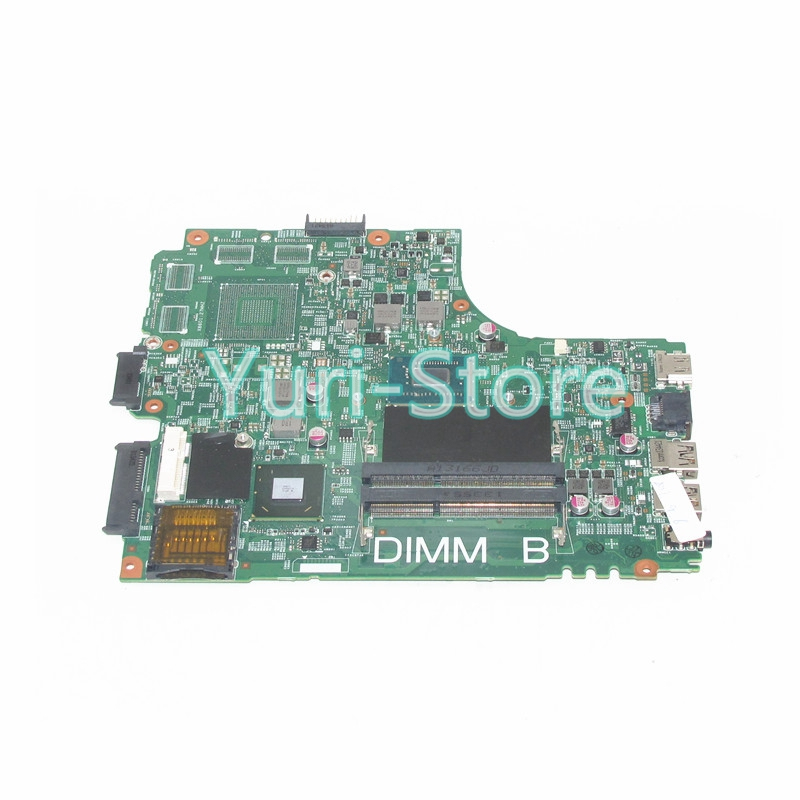 NOKOTION For Dell Inspiron 3421 5421 Laptop CN-0PTNPF 0PTNPF PTNPF Main Board 1017U CPU DDR3 100% TEST цена
