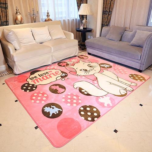 Anime My Neighbor Totoro Cat Sailor Moon Printed Baby Crawling Mat Play Mats Floor Carpet Kid's Toddler Climbing Bedroom Carpet