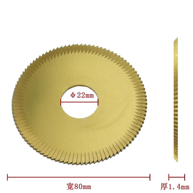 100% Wenxing Model 100G 202A 100G2 Size 80mm 22mm 1.4mm Key Cutters Blade Cutting Machine Tool Parts цена