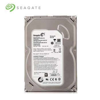 "Seagate Brand 500GB Desktop PC 3.5\"" Internal Mechanical Hard disk SATA 6Gb/s HDD 500 GB 7200 RPM 16 MB Buffer (ST500DM002)"