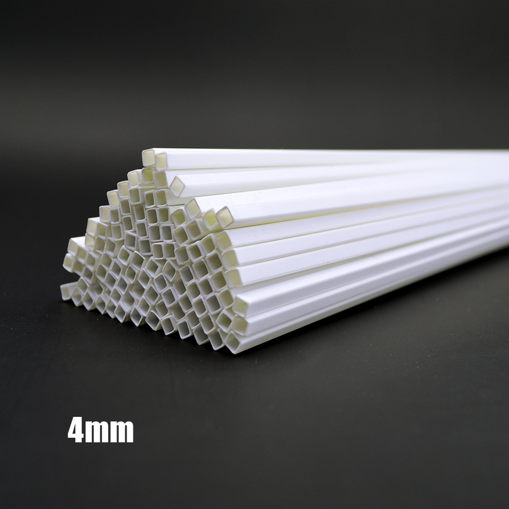 architecture model making 4 0 4 0mm Square tube ABS Plastic pipe JYG 4 0 50cm length in Model Building Kits from Toys Hobbies