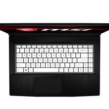"""Для MSI GF63 P65 PS42 PS63 GS65 8RD 8RE 8RB 8RCX 8RE-014CN 15,"""" 15 дюймов игровой ноутбук клавиатура кожного покрова"""