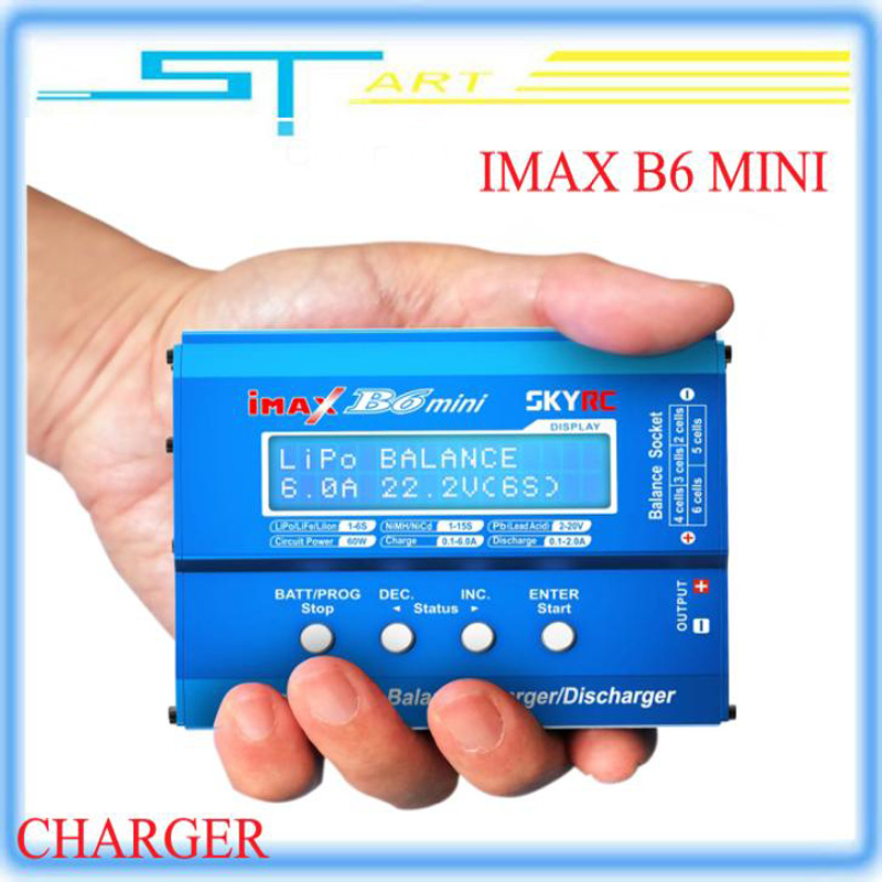 In stock !Origin Skyrc Imax B6 Mini Professional Balance Charger Discharger lipo charger for rc drones quadcopter skyrc sk 800084 01 b6 mini 6a 60w dc11 18v professional balance charger discharger w t 2 6lcd