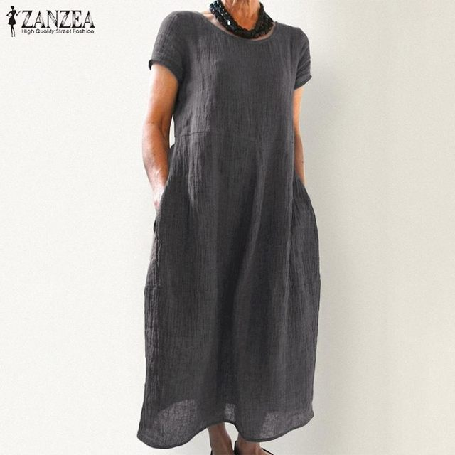 Boho light long cuff shoulder dress 1