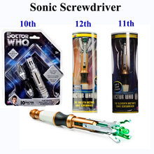 sonic screwdriver 10th 11th 12th official doctor who sonic screwdriver in stock same day shipping(China)